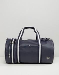 Темно-синяя спортивная сумка из зернистого материала Fred Perry Scotch - Темно-синий
