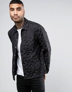 Строгая камуфляжная куртка Religion - Черный