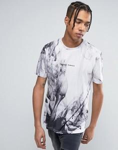 Белая футболка с принтом Criminal Damage - Белый