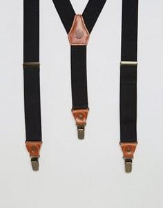 Подтяжки с кожаной отделкой Fjallraven Singi - Рыжий