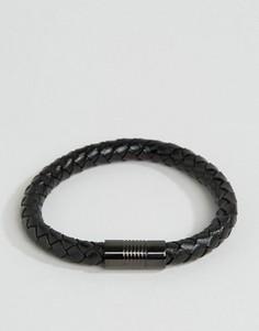 Черный плетеный браслет ALDO - Черный