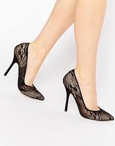 Черные кружевные туфли‑лодочки Paper Dolls Moretz - Черный