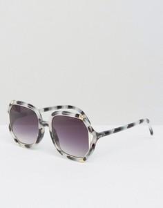 Солнцезащитные очки в винтажном стиле Somedays Lovin - Коричневый