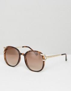 Большие солнцезащитные очки в винтажном стиле Somedays Lovin - Черный