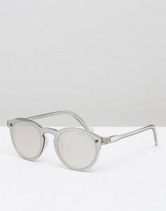 Круглые солнцезащитные очки Black Phoenix - Прозрачный