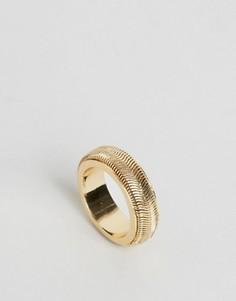 Кольцо DesignB - Золотой