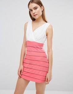 Платье 2-в-1 AX Paris - Кремовый