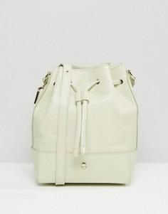 Кожаная сумка на плечо Modalu - Зеленый
