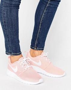 Розовые кроссовки Nike Roshe One - Розовый