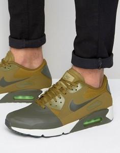 Зеленые кроссовки Nike Air Max 90 Ultra 876005-300 - Зеленый