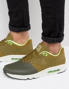 Зеленые кроссовки Nike Air Max 1 Ultra 2.0 875845-300 - Зеленый
