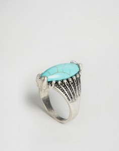Массивное кольцо с камнем Nylon - Синий