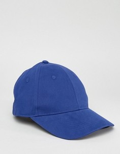 Синяя бейсболка ASOS - Фиолетовый
