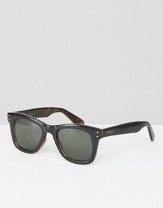 Черные квадратные солнцезащитные очки Komono Allen - Черный