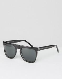 Квадратные солнцезащитные очки Komono Bennet - Черный