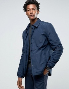 Дутая рубашка-куртка Kiomi - Темно-синий