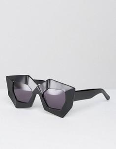 Солнцезащитные очки House of Holland Superhero - Черный