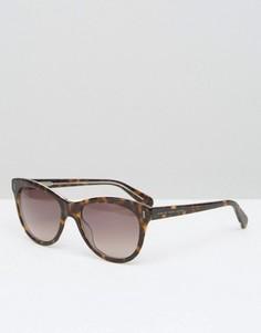 Солнцезащитные очки кошачий глаз в черепаховой оправе Marc By Marc Jacobs - Коричневый