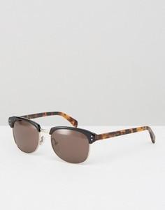 Солнцезащитные очки в черепаховой оправе Marc By Marc Jacobs - Коричневый