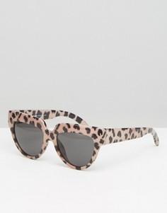 Солнцезащитные очки кошачий глаз Cheap Monday Laylow - Коричневый