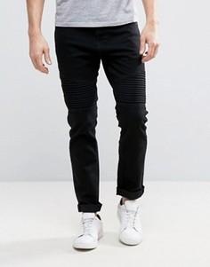 Узкие джинсы Troy Biker - Черный