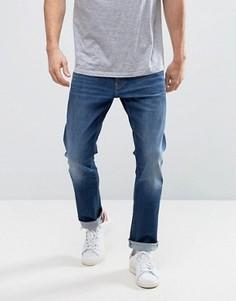 Темные джинсы слим Esprit - Синий
