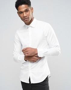 Приталенная рубашка Sisley - Белый