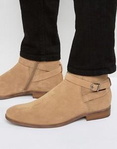 Замшевые ботинки Vagabond Hustle Jodphur - Бежевый