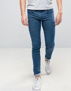 Темные джинсы скинни BOSS Orange by Hugo Boss 72 - Синий