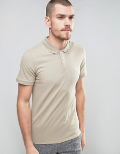 Узкая футболка-поло Selected Homme - Серый