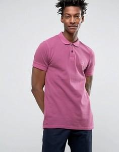 Розовое узкое поло из пике BOSS Orange by Hugo Boss - Розовый