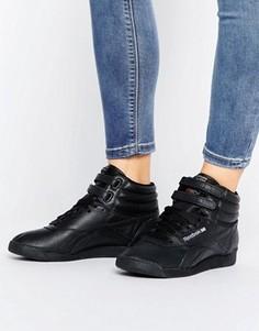 Черные высокие кроссовки Reebok X Local Heroes Lux Freestyle Og - Черный
