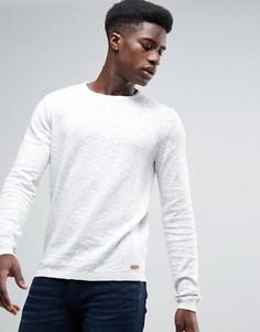 Вязаный джемпер из 100% хлопка Esprit - Белый