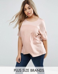 Блузка размера плюс Junarose - Розовый