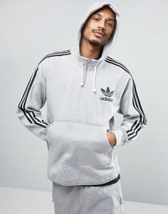 Серое худи adidas Originals AC BK7192 - Серый
