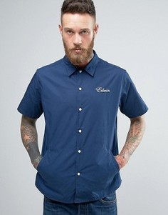 Рубашка с карманами и короткими рукавами Edwin - Темно-синий