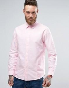 Розовая рубашка Edwin Cadet - Розовый
