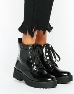Ботинки на шнуровке Truffle Collection - Черный