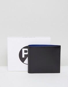 Бумажник из сафьяна PS by Paul Smith - Черный