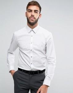 Узкая рубашка Calvin Klein - Белый