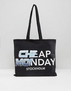 Сумка-тоут Cheap Monday Future - Черный
