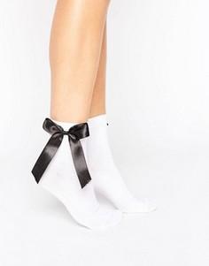 Носки с бантами ASOS - Белый