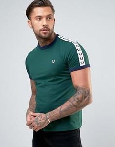 Зеленая футболка Fred Perry Sports Authentic - Зеленый