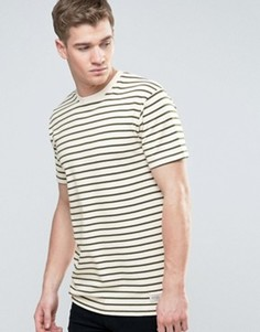 Полосатая футболка из плотного трикотажа Redefined Rebel - Зеленый