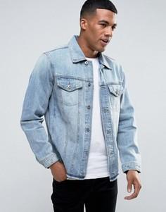 Джинсовая куртка Diesel N-HILL - Синий