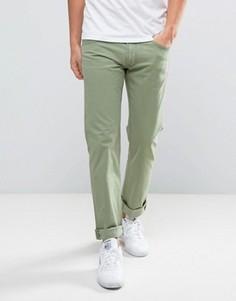 Зеленые прямые джинсы Lee Daren - Зеленый