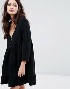 Свободное платье BA&SH - Черный Ba&Sh