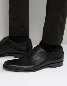 Фактурные оксфордские туфли HUGO by Hugo Boss Sigma - Черный
