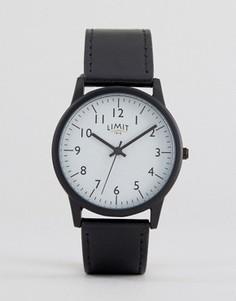 Часы с черным ремешком Limit эксклюзивно для ASOS - Черный
