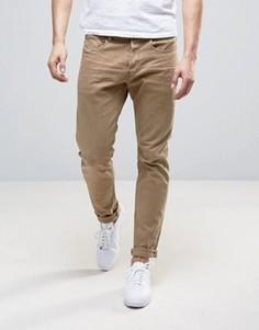 Зауженные джинсы хаки G-Star 3301 - Зеленый